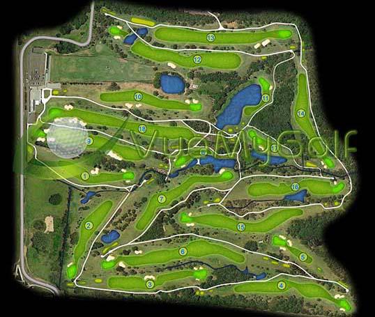 VueMyGolf Course Map 08