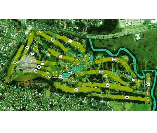 VueMyGolf Course Map 13