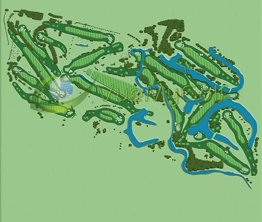 VueMyGolf Course Map 14
